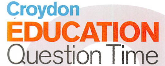 Croydon Education Question Time