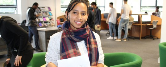 A-Level results at a glance