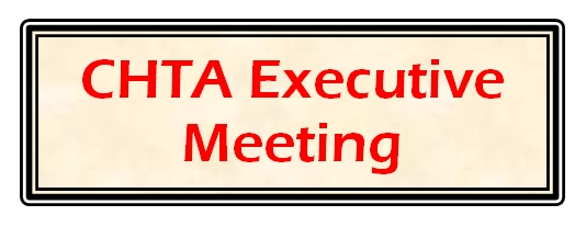 CHTA Exec meeting at Conference (breakfast meeting)