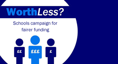 'Worthless' campaign for fairer funding
